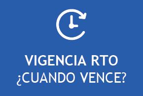 Consulta de vigencia de RTO - revisión técnica vehicular